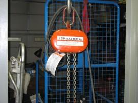 CM 115v 1 Ton Lodestar Electric Chain Hoist